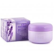 """Κρέμα σώματος για μασάζ   """"Lavender"""" 330ml"""