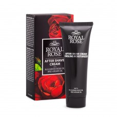 After shave Ενυδατική κρέμα  Royal Rose 75ml