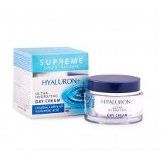 """Κρέμα ημέρας ενυδατική με υαλουρονικό οξύ """"Supreme"""" 50ml"""