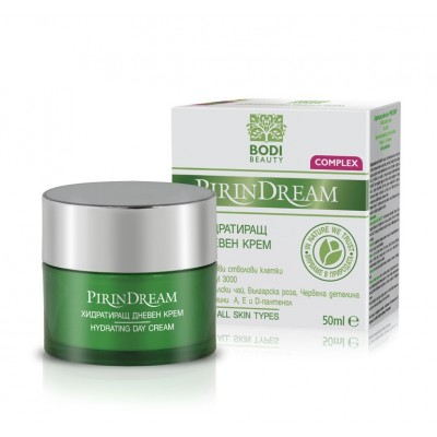 """Κρέμα ημέρας  ενυδατική με βλαστικά κύτταρα """"Pirin Dream Complex"""" 50ml"""